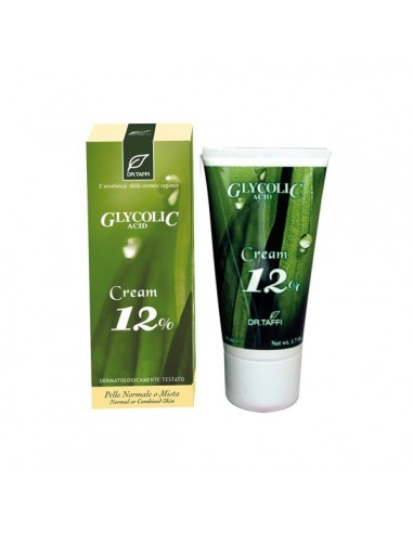 Glycolic Acid Cream 12%  50 Ml-Bio - DR.TAFFI - Wingsbeat