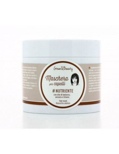 Maschera Capelli Nutriente Green & Beauty - Wingsbeat
