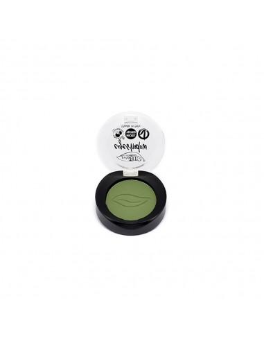 Ombretto Compatto Matte 17 Verde Prato|puroBio Cosmetics|Wingsbeat