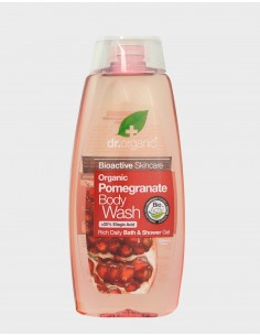 Organic Pomenagrate Body Wash Dr Organic - Wingsbeat