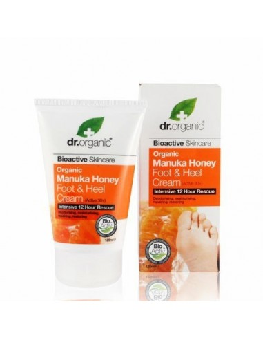 Organic Manuka Honey Foot&Heel Cream Dr Organic - Wingsbeat