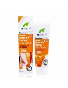Organic Manuka Honey Foot Scrub Dr Organic - WIngsbeat