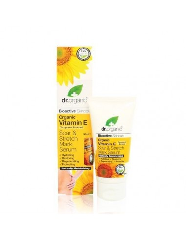 Organic Vitamin E Scar & Stretch Mark Serum Dr Organic - WIngsbeat