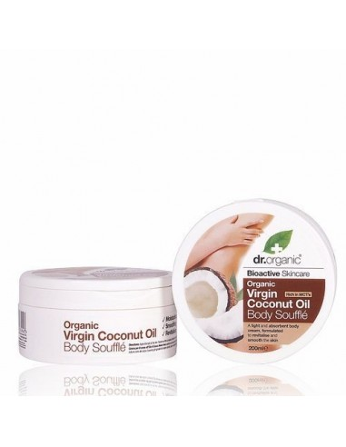 Organic Virgin Coconut Body Souffle Burro Corpo Dr Organic - Wingsbeat