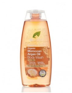 Organic Argan Body Wash Dr Organic - Wingsbeat
