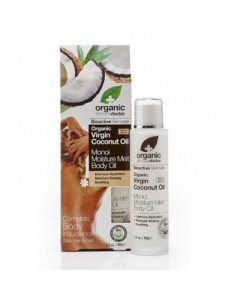 ORGANIC VIRGIN COCONUT OLIO CORPO SOLIDO