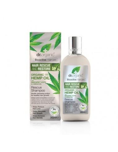 Dr Organic Hemp Oil Rescue & Restore Shampoo Dr Organic - Wingsbeat