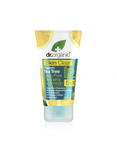 Organic Skin Clear Face Wash Dr Organic - Wingsbeat