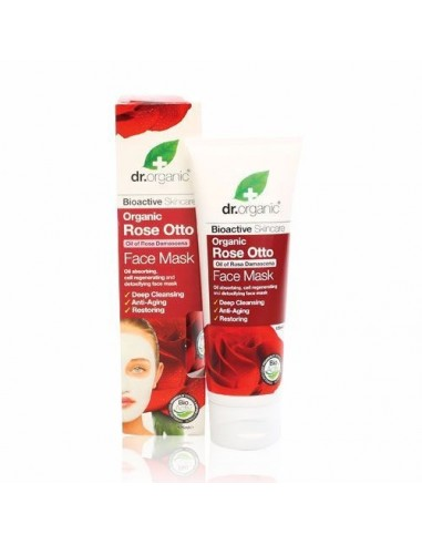 Organic Rose Otto Face Mask Dr Organic - Wingsbeat