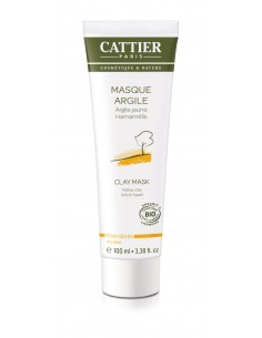 Maschera All'argilla Gialla E Hamamelis Bio Cattier - Wingsbeat