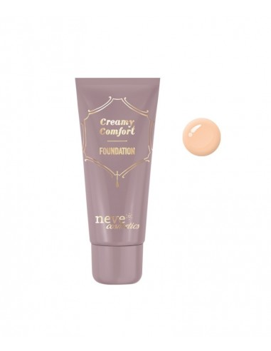 Fondotinta Creamy Comfort Medium  Neutral Neve Cosmetics - Wingsbeat