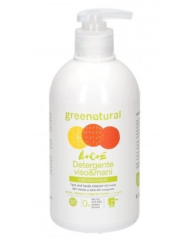 Detergente Viso e Mani Multivitamine A+C+E - Ecobio di Greenatural - Wingsbeat