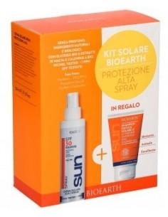 Kit Solare Spray Protezione Alta SPF50 + Doccia Shampoo Solare
