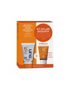 Kit Solare Corpo Protezione Molto Alta SPF50 WR + Doccia Shampoo