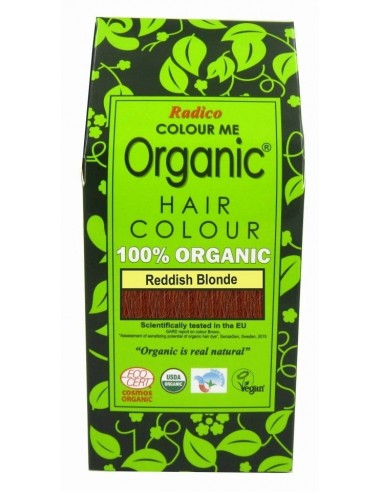 Tinta vegetale biologica  Biondo Rosso Radico - Wingsbeat