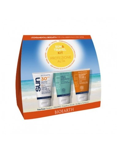 Sun & Travel Kit protezione media SPF30- Bioearth - Wingsbeat
