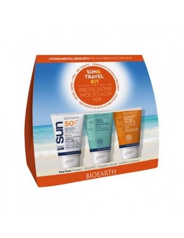 Sun Travel Kit Crema Solare Corpo WR SPF50 + Crema Doposole Corpo - Bioearth - Wingsbeat