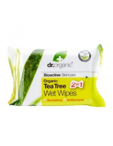 Organic Tea Tree Salviette - Dr. Organic - Wingsbeat