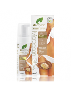 Organic M-Glow Tan Mousse - Light - Dr. Organic - Wingsbeat