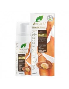 Organic M-Glow Tan Mousse - Dark