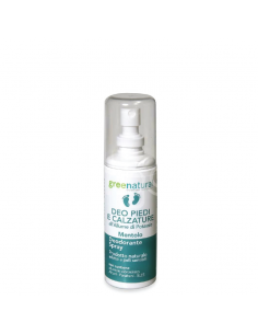 Deodorante Spray piedi Allume di Potassio - Mentolo