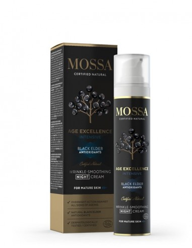 Instant Wrinkle Smoothing Night Cream - Mossa - Wingsbeat -