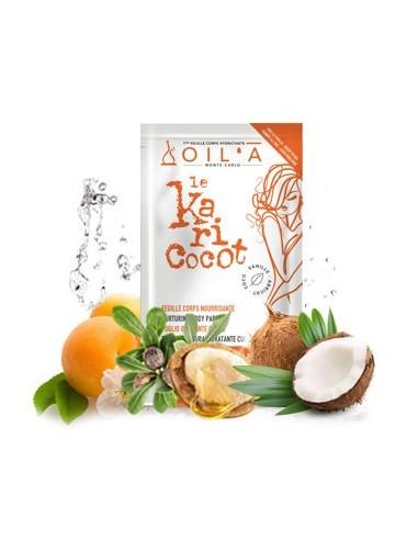 Foglio Idratante per il Corpo Karité Cocco e Albicocca - Oil'à - Wingsbeat