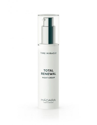 Time Miracle Total Renewal Night Cream - Màdara - Wingsbeat