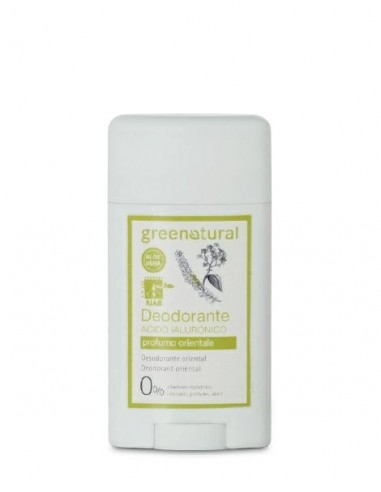 Deodorante Acido Ialuronico Gel Roll-on - Orientale - Green Natural - Wingsbeat
