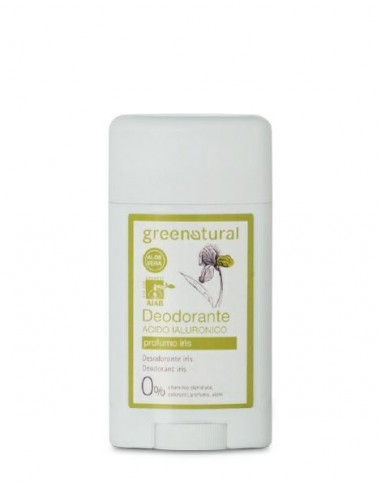 Deodorante Acido Ialuronico Gel Roll-on - Iris - Green Natural - Wingsbeat