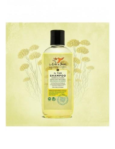 Shampoo all'Elicriso Selvatico della Sardegna - Le Erbe di Janas - Wingsbeat