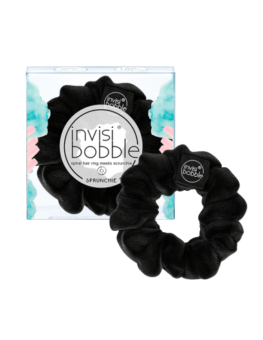 INVISIBOBBLE SPRUNCHIE - TRUE Black - Wingsbeat