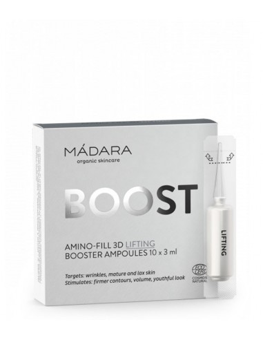 Booster Amino Fill 3D Lifting Ampoules - Màdara Organic Skincare - Wingsbeat