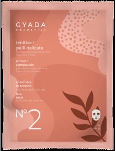 Maschera in tessuto N.2 - Lenitiva / Pelli Delicate