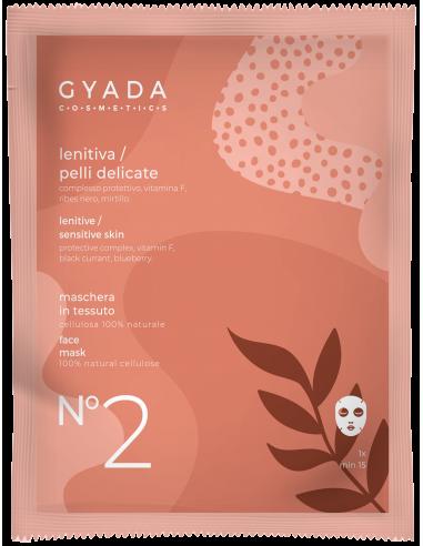 Maschera in tessuto - N°2  Lenitiva - Gyada Cosmetics - Wingsbeat