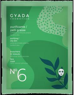 Maschera in tessuto N.6 - Purificante/Pelli Grasse