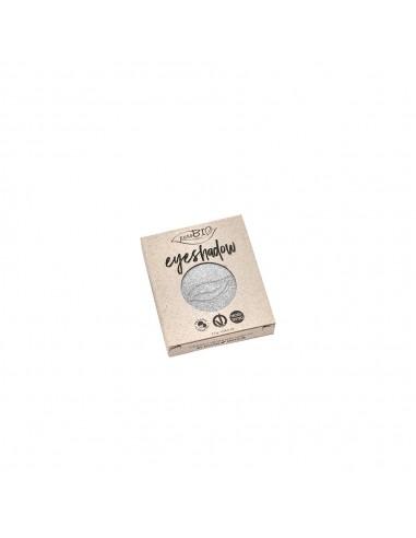 Ombretto compatto Shimmer 23 Argento - Refill - purobio - Wingsbeat