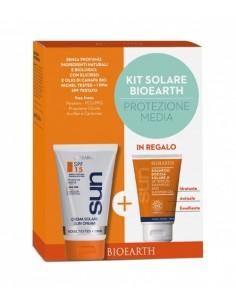 Kit Solare Protezione Media  SPF15 + Doccia Shampoo Solare
