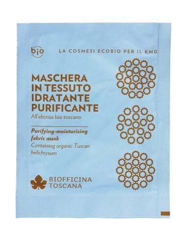 Maschera in Tessuto Idratante Purificante - Biofficina toscana - Wingsbeat