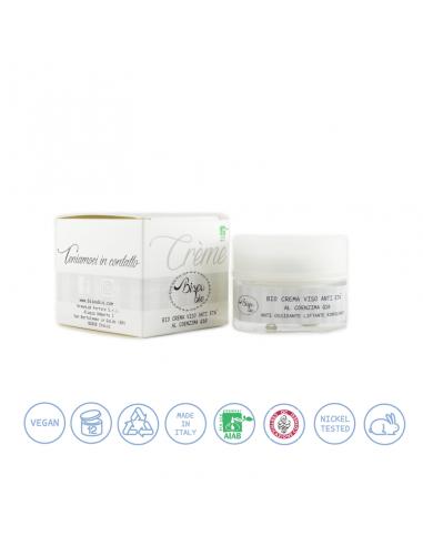Bio crema viso anti età al coenzima Q10 50 ml Bisoubio - Wingsbeat