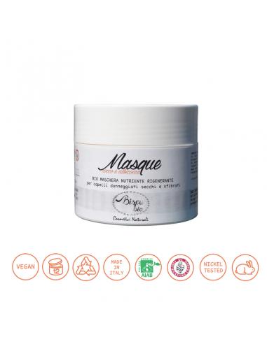 Bio Maschera capelli cocco e albicocca 150 ml Bisoubio - Wingsbeat