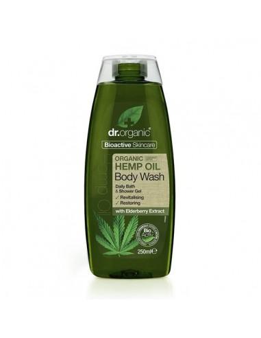 Detergente Per Il Corpo All'olio Di Canapa - Dr Organic - Wingsbeat