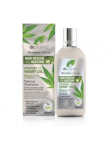 Shampoo Riparatore all'olio di Canapa - Dr Organic - Wingsbeat