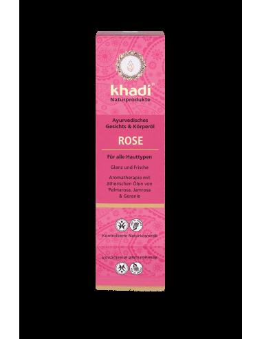 Olio Viso e Corpo alla Rosa - Khadì - Wingsbeat
