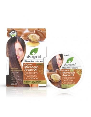 Moroccan Argan Oil Maschera Capelli Ristrutturante Dr Organic - Wingsbeat