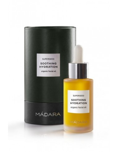 SUPERSEED SOOTHING HYDRATION ORGANIC  FACIAL OIL - MADARA - WINGSBEAT
