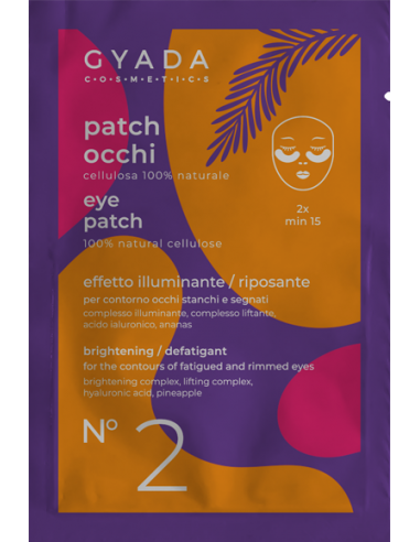 PATCH OCCHI N. 2 – IDRATANTI / LEVIGANTI  - Gyada Cosmetic - Wingsbeat