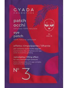 PATCH OCCHI N. 3   RIMPOLPANTI / EFFETTO  LIFTING - Gyada Cosmetic - Wingsbeat