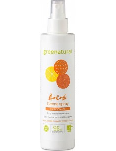 Crema Spray Corpo Multivitamine A+C+E