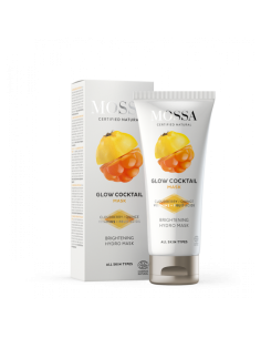 GLOW COCKTAIL brightening hydro MASK - Mossa Cosmetics - Wingsbeat